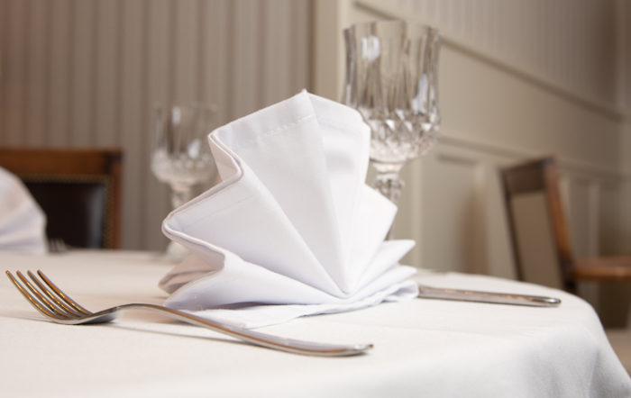 столовое белье ресторан Павильон
