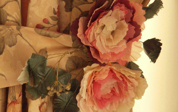 элемент текстильного декора